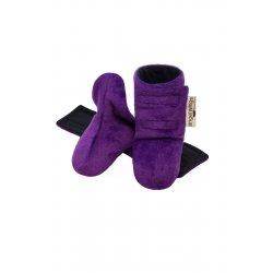 Angel Wings Fluffy Shoes - purple