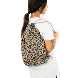 Fidella Sling Bag Leopard - Gold