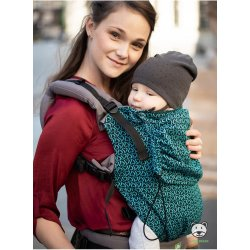 Luna Dream Adjustable babycarrier Grow Up Wrap: Little Hearts turquoise