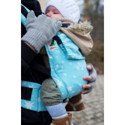 MoniLu ergonomic babycarrier UNI START Heaven Stars - for rent