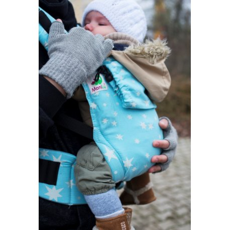 MoniLu ergonomic babycarrier UNI START Heaven Stars