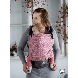 Luna Dream Adjustable babycarrier Grow Up Wrap: Little Hearts Pink