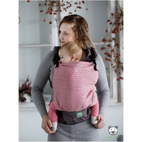 Luna Dream Adjustable babycarrier Grow Up Wrap: Little Hearts Pink