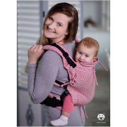 Luna Dream Adjustable babycarrier Multi Size: Little Hearts Pink