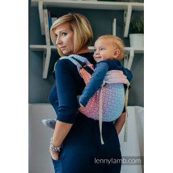 LennyLamb Onbuhimo back carrier - Big Love - Rainbow