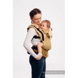 LennyLamb LennyGo ergonomic carrier Big Love - Ombre Yellow - for rent
