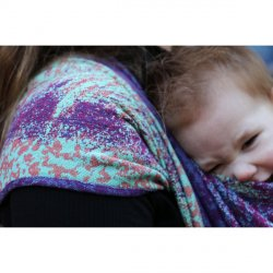 Yaro Ring Sling Meteor Ultra Raspberry Blue Seacell