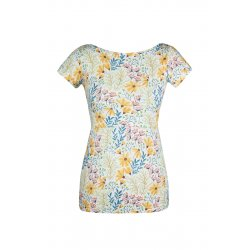 Angel Wings T-shirt for breastfeeding Yellow Flowers