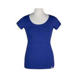 Angel Wings T-shirt for breastfeeding Cobalt blue