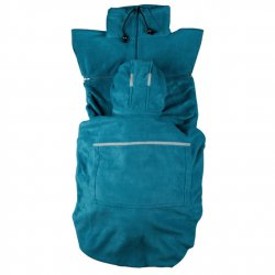 "Hoppediz Fleece cover ""Basic"" - marine"