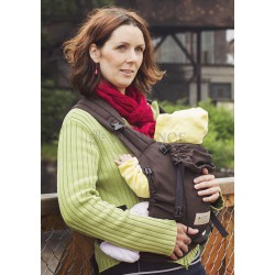 Storchenwiege babycarrier brown