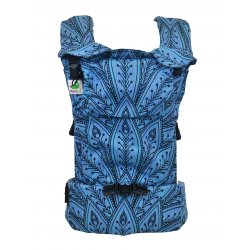 MoniLu ergonomic babycarrier UNI START Peacock Ocean