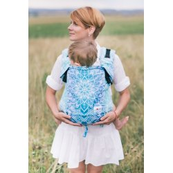 Lenka ergonomical babycarrier - 4ever - Mandala Blue for rent