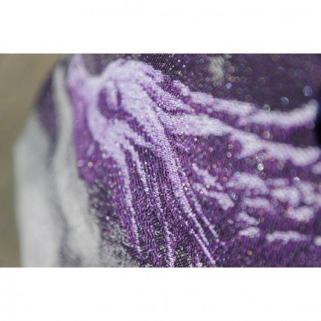 Yaro Ring Sling Moonkeeper Trinity Silver Violet Glam
