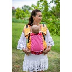 Lenka ergonomical babycarrier - 4ever - Shri Yantra - Lila