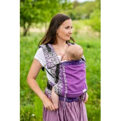 Lenka ergonomical babycarrier - 4ever - Shri Yantra - Violet