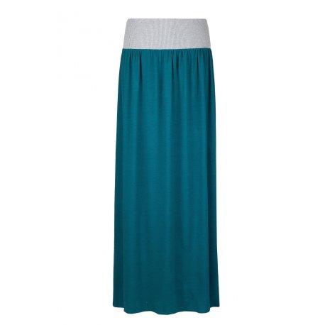 Angel Wings Skirt - Long petrol