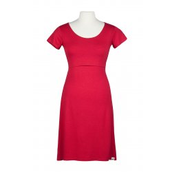 Angel Wings Dress A - short sleeves - Red