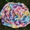 Yaro La Fleur Trinity Caribbean Rainbow Cupro Tencel Linen