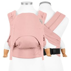 Fidella FlyClick Halbfbuckle babycarrier Chevron - Rose