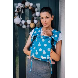 Lenka ergonomical babycarrier - Be Lenka Mini - Fruit - blue