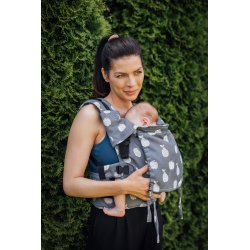 Lenka ergonomical babycarrier - Be Lenka Mini - Fruit - grey