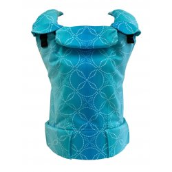 MoniLu ergonomic babycarrier UNI (Adjustable) Aqua