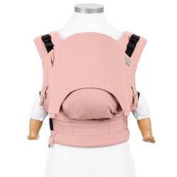 Fidella Fusion babycarrier with buckles - Chevron - Rose