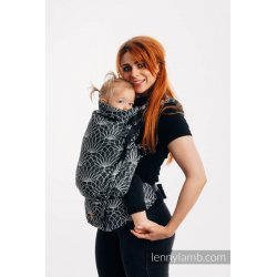LennyLamb LennyPreschool Carrier - Lotus - Black