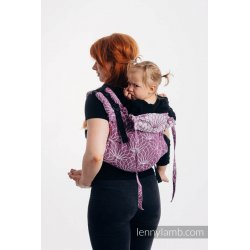 LennyLamb Onbuhimo back carrier - Lotus - Purple