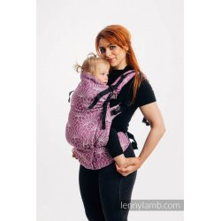 LennyLamb LennyPreschool Carrier - Lotus - Purple