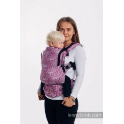 LennyLamb LennyUpGrade adjustable ergonomic carrier - Lotus - Purple
