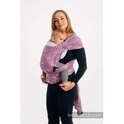 LennyLamb LennyHybrid Half Buckle Carrier - Lotus - Purple