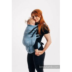 LennyLamb LennyPreschool Carrier - Lotus - Blue