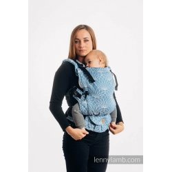 LennyLamb LennyUpGrade adjustable ergonomic carrier - Lotus - Blue