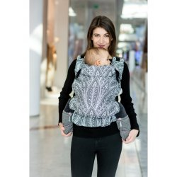 MoniLu ergonomic babycarrier UNI (Adjustable) Peacock Moon - for rent