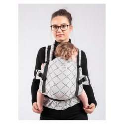 Isara ergonomic carrier The Trendsetter Diamonda Gray