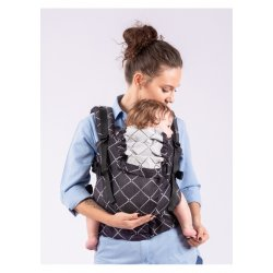 Isara ergonomic carrier The Trendsetter Diamonda Black