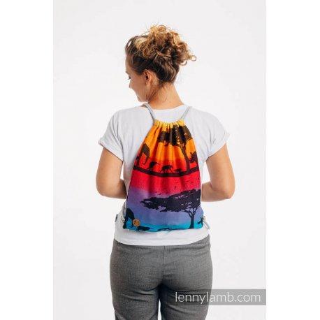 LennyLamb Bag SackPack Rainbow Safari