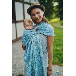 Little Frog Ring Sling Skyblue Plumes