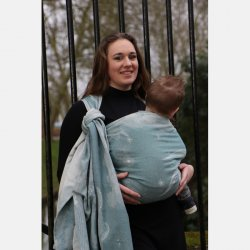 Yaro Ring Sling Moonkeeper Tardis Blue Wool