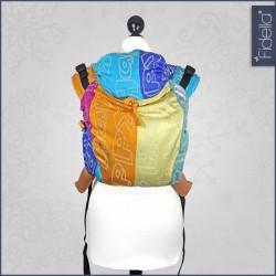 Fidella Onbuhimo zádové nosítko - Happy Colour BoOm