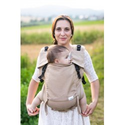 Lenka ergonomical babycarrier - 4ever - Brown - for rent
