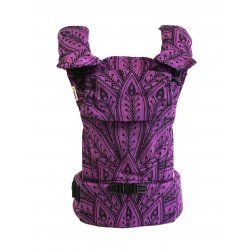 MoniLu ergonomic babycarrier UNI START Peacock Lilac