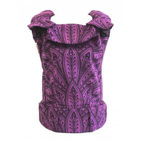 MoniLu ergonomic babycarrier UNI (Adjustable) Peacock Lilac