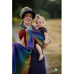 Little Frog Ring Sling Rainbow Harmony