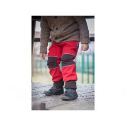Loktu She - kids softshells trousers - red