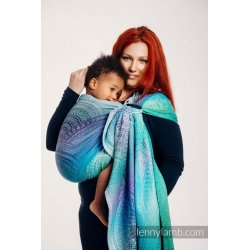 LennyLamb ring sling Peacock's Tail - Fantasy