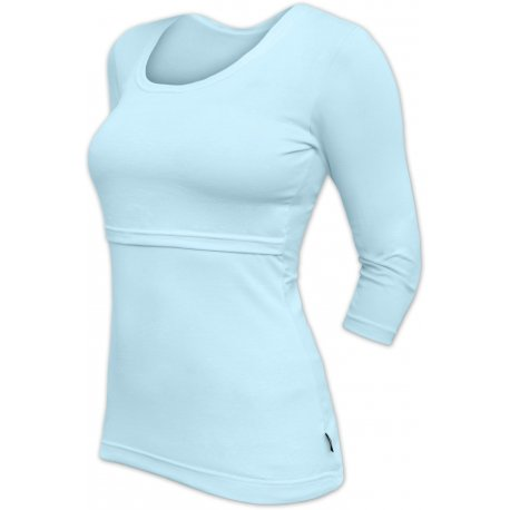 Jozanek Breastfeeding T-shirt Catherine 3/4 sleeves - light blue