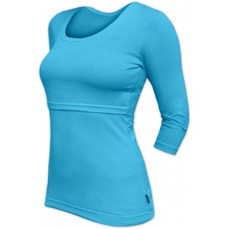 Jozanek Breastfeeding T-shirt Catherine 3/4 sleeves - turquoise